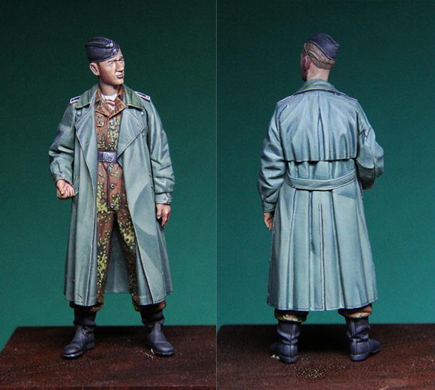 Figures: SS tank crewman