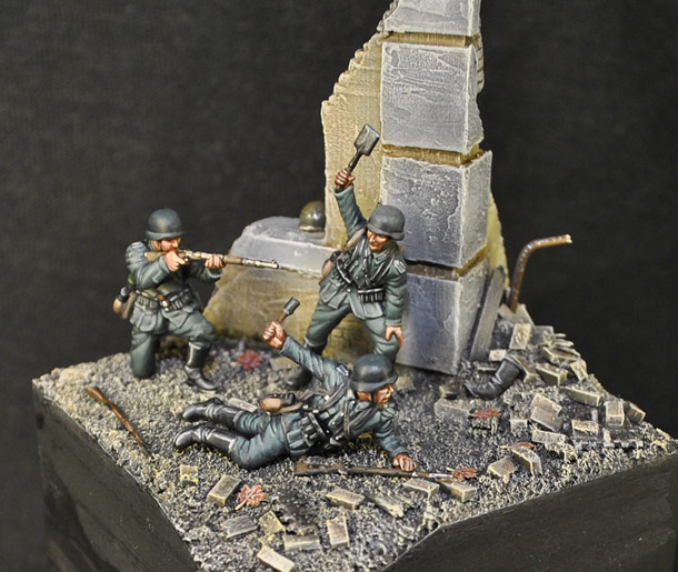 Dioramas and Vignettes: Stalingrad. The Beginning