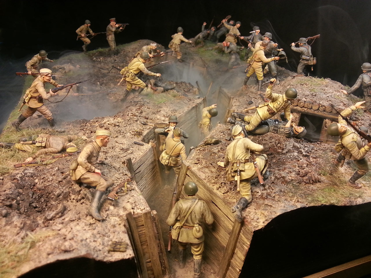 Dioramas and Vignettes: Penal battalion. The Breakthrough, photo #1