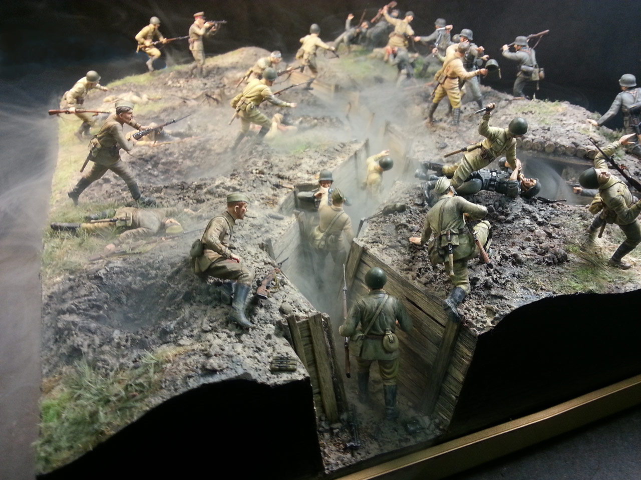 Dioramas and Vignettes: Penal battalion. The Breakthrough, photo #15