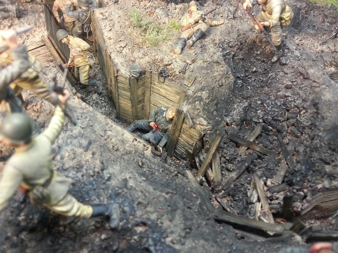 Dioramas and Vignettes: Penal battalion. The Breakthrough, photo #19