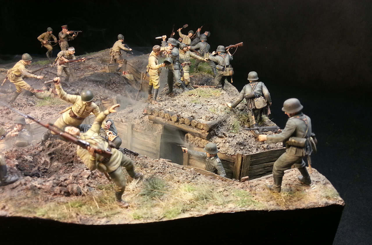 Dioramas and Vignettes: Penal battalion. The Breakthrough, photo #2