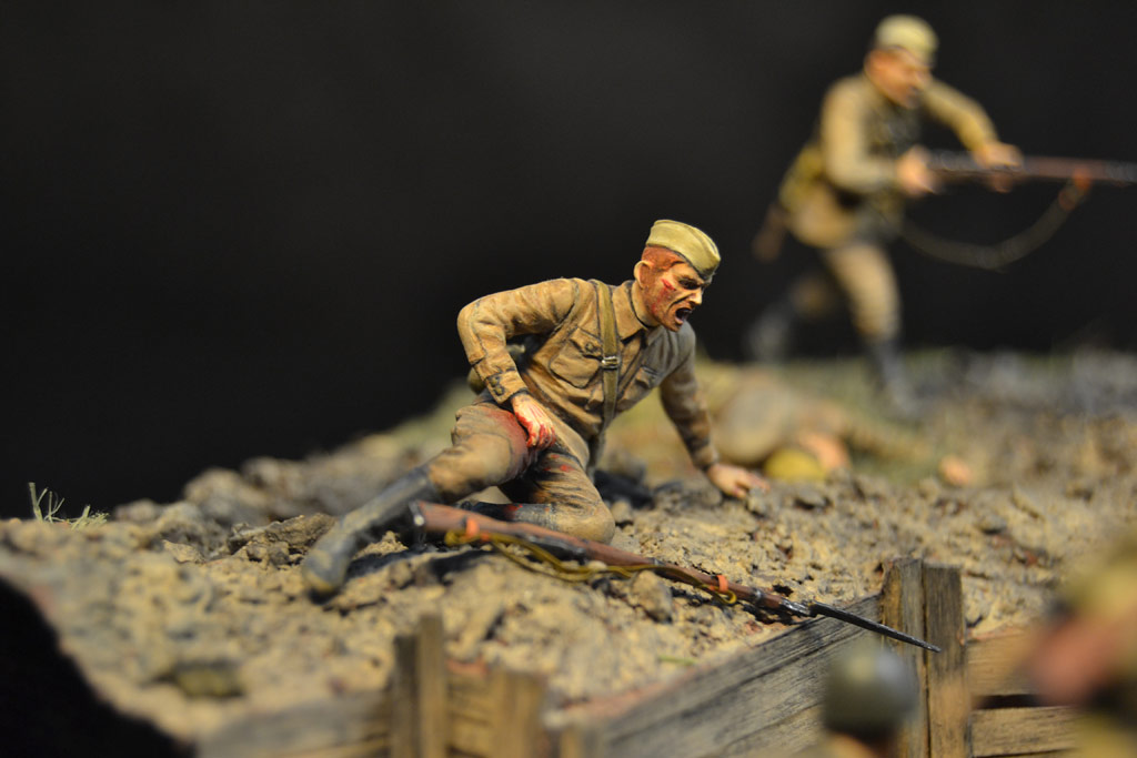 Dioramas and Vignettes: Penal battalion. The Breakthrough, photo #20