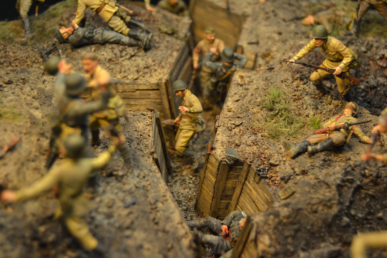 Dioramas and Vignettes: Penal battalion. The Breakthrough, photo #22