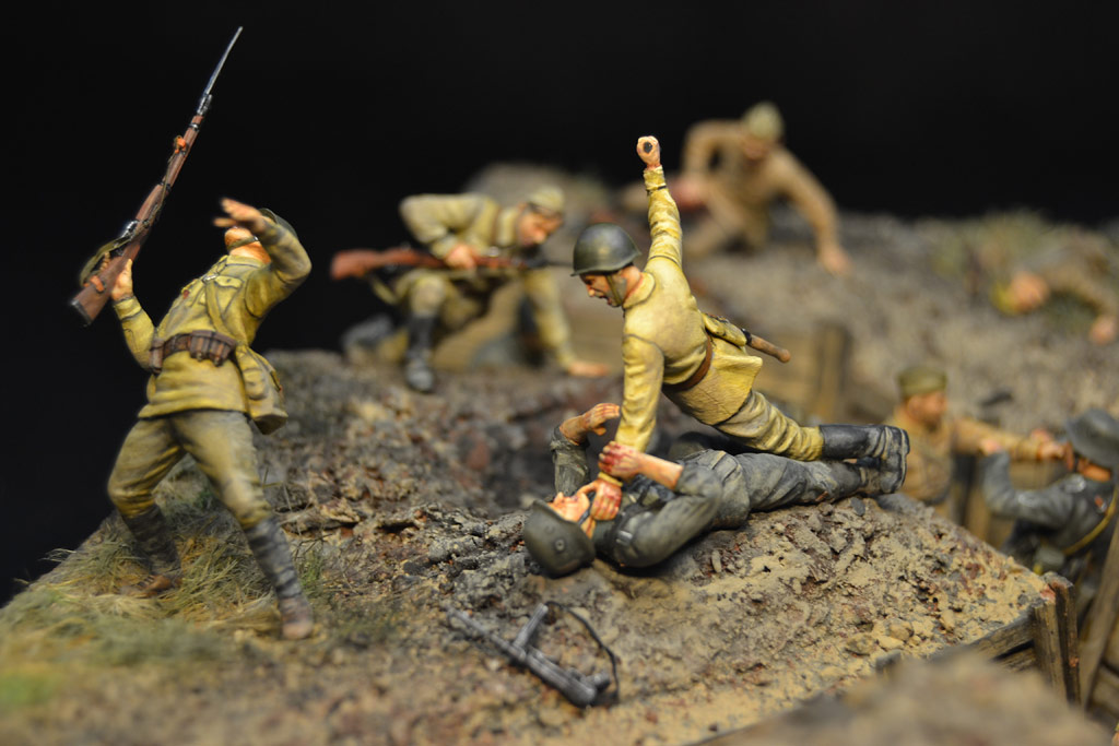 Dioramas and Vignettes: Penal battalion. The Breakthrough, photo #23