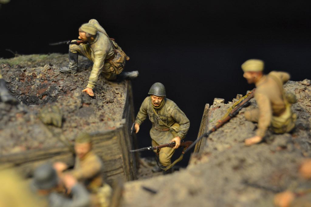 Dioramas and Vignettes: Penal battalion. The Breakthrough, photo #25