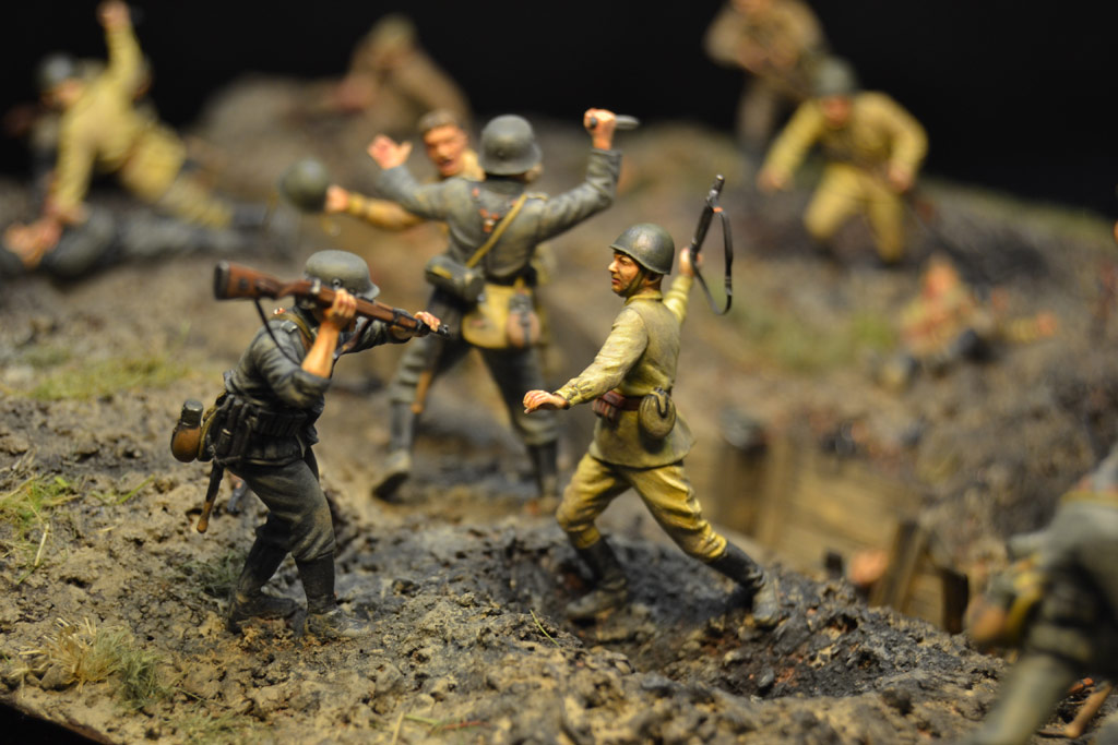 Dioramas and Vignettes: Penal battalion. The Breakthrough, photo #28
