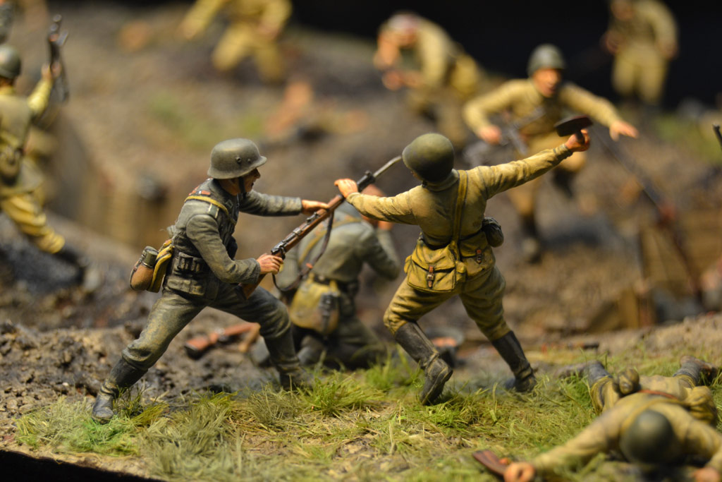 Dioramas and Vignettes: Penal battalion. The Breakthrough, photo #29