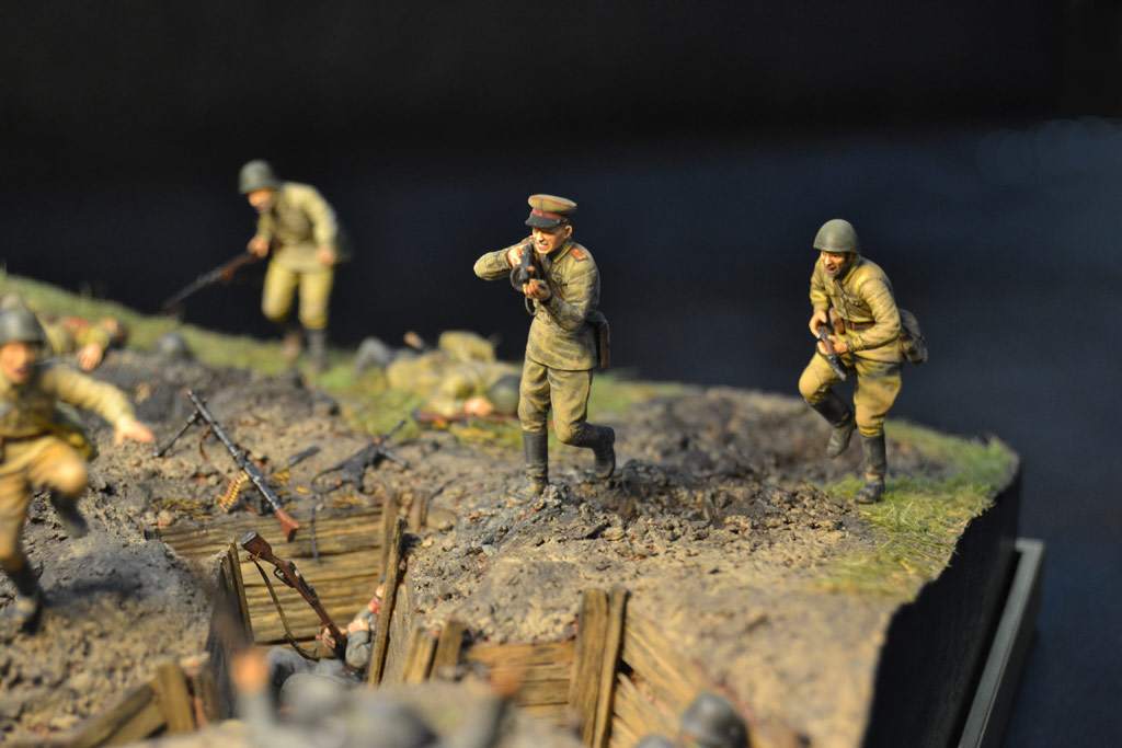 Dioramas and Vignettes: Penal battalion. The Breakthrough, photo #30