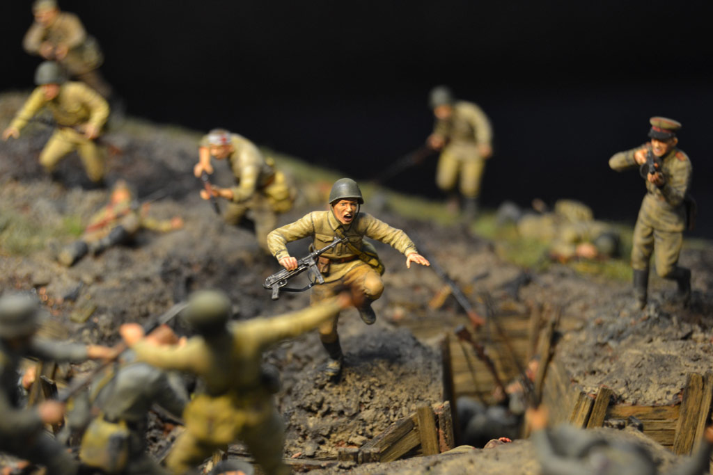 Dioramas and Vignettes: Penal battalion. The Breakthrough, photo #31