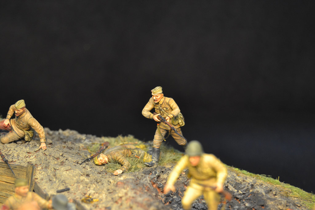 Dioramas and Vignettes: Penal battalion. The Breakthrough, photo #32