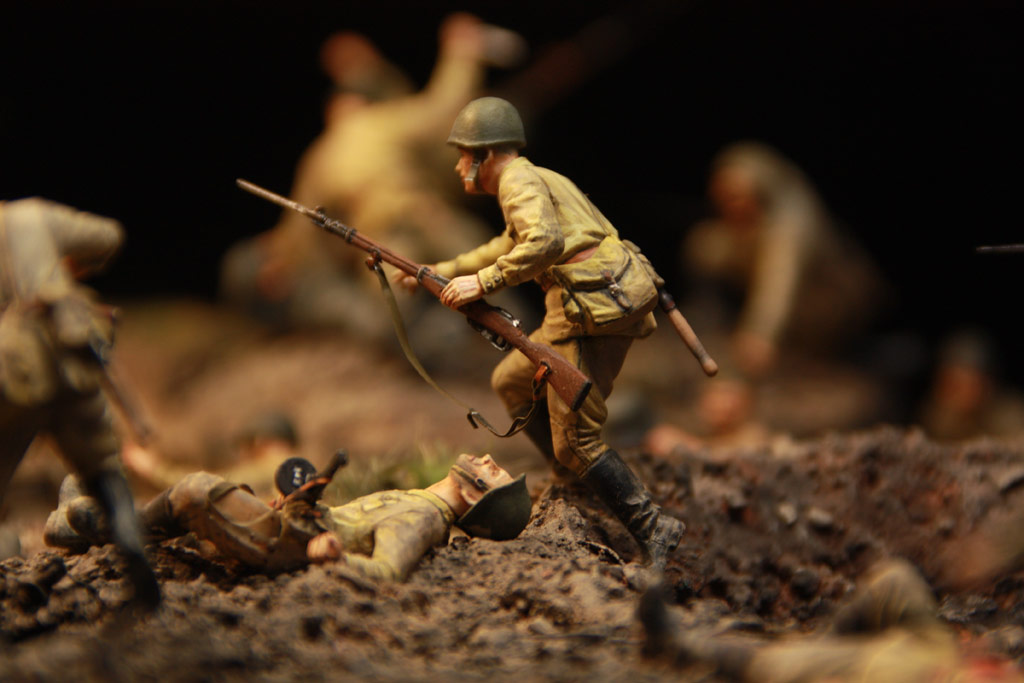 Dioramas and Vignettes: Penal battalion. The Breakthrough, photo #36