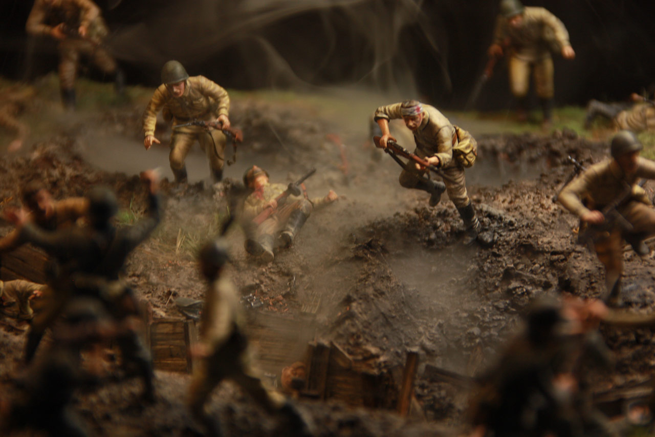 Dioramas and Vignettes: Penal battalion. The Breakthrough, photo #37