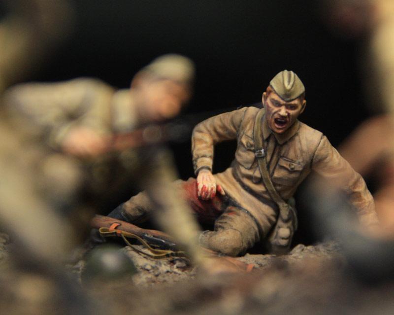 Dioramas and Vignettes: Penal battalion. The Breakthrough, photo #39