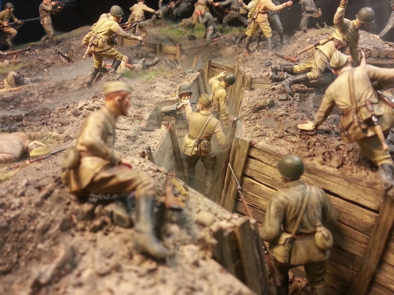 Dioramas and Vignettes: Penal battalion. The Breakthrough, photo #4