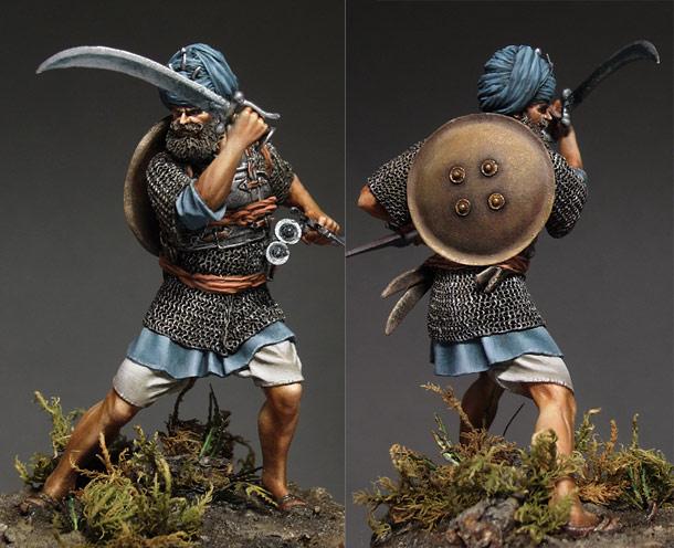 Figures: Akali sikh warrior