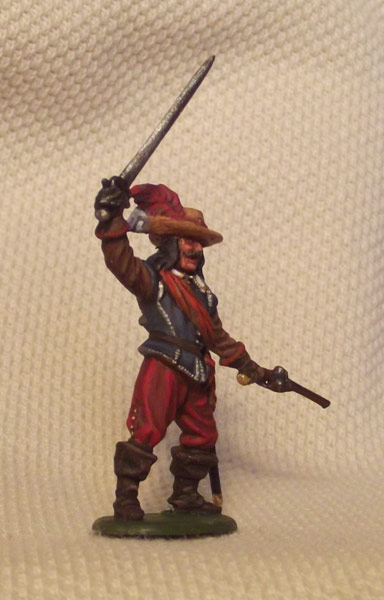 Figures: Captain of musketeers. England, 1642-51, photo #5