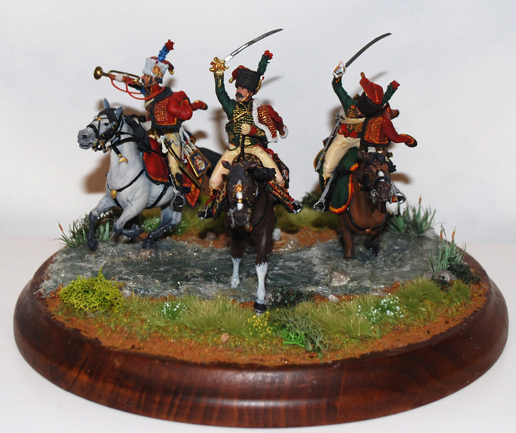 Dioramas and Vignettes: Charge of Guard Horse Chasseurs, photo #1