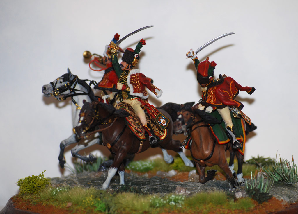 Dioramas and Vignettes: Charge of Guard Horse Chasseurs, photo #2