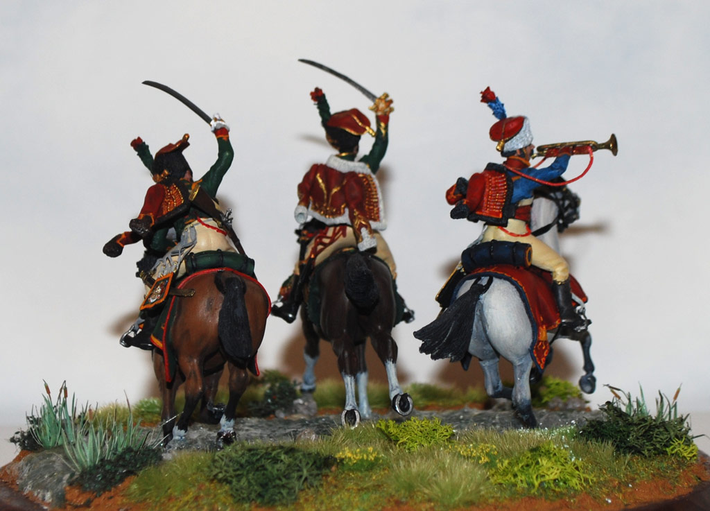 Dioramas and Vignettes: Charge of Guard Horse Chasseurs, photo #4