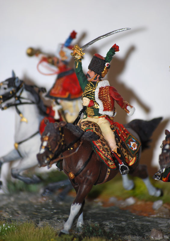 Dioramas and Vignettes: Charge of Guard Horse Chasseurs, photo #8