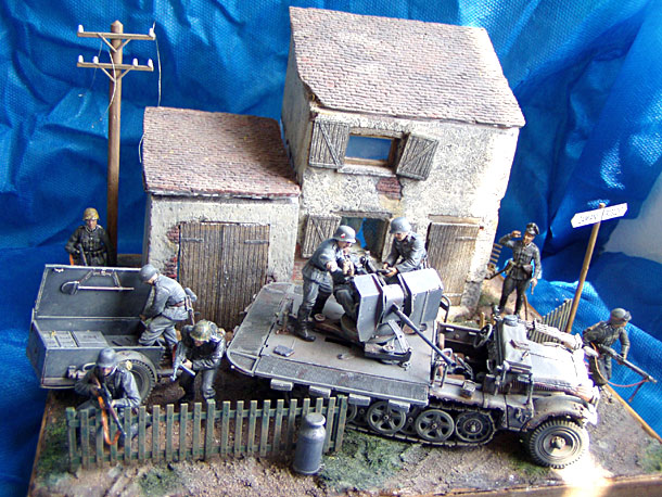 Dioramas and Vignettes: Evening Fight