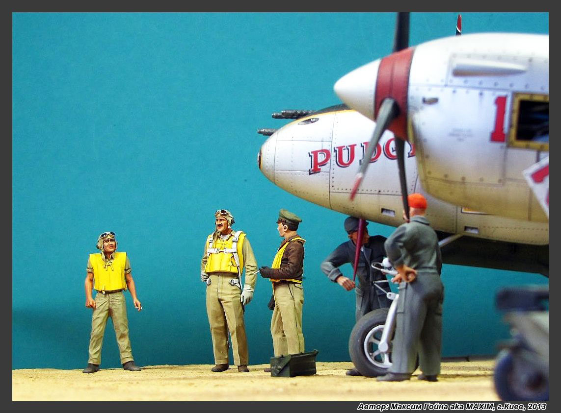 Dioramas and Vignettes: Major Thomas McGuire and his Lightning, photo #12