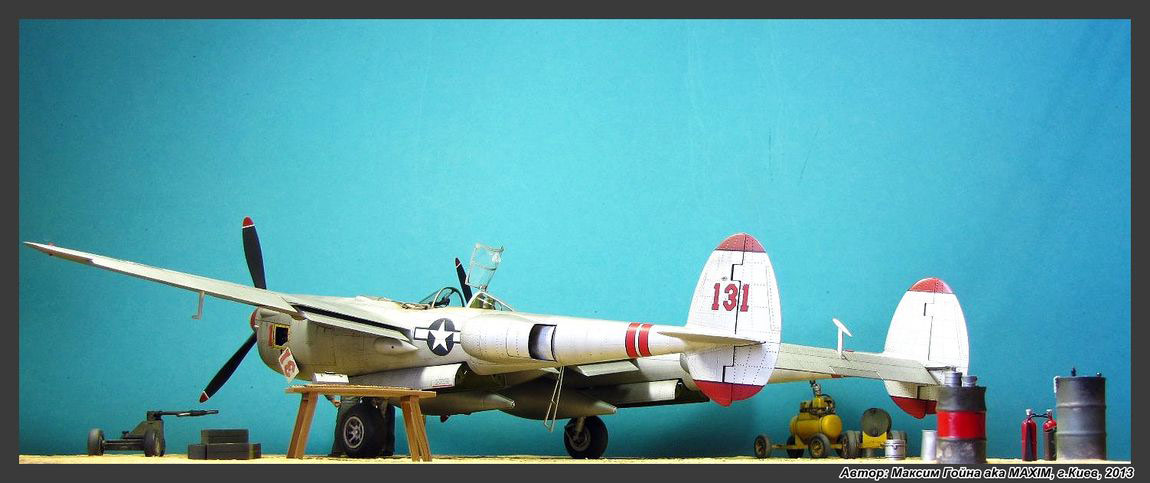 Dioramas and Vignettes: Major Thomas McGuire and his Lightning, photo #14