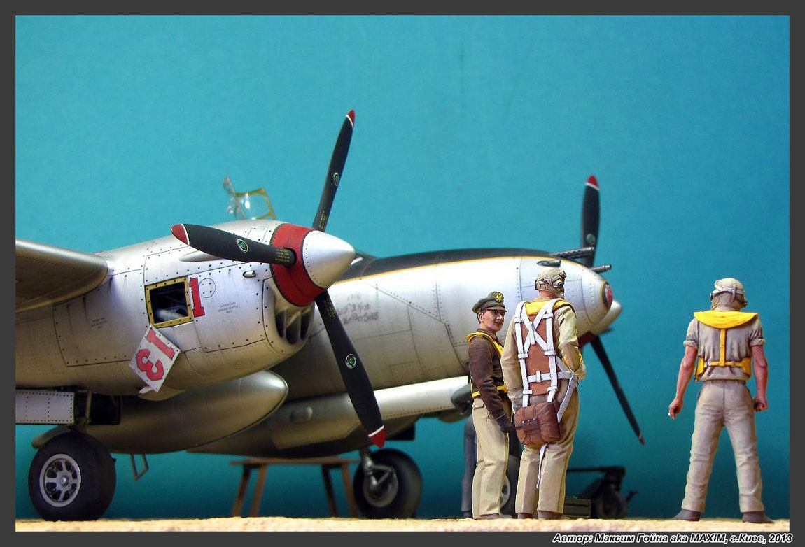 Dioramas and Vignettes: Major Thomas McGuire and his Lightning, photo #15