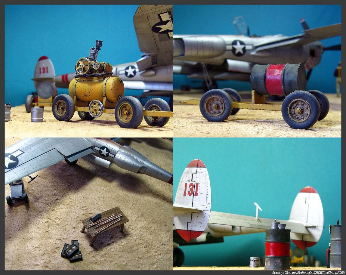 Dioramas and Vignettes: Major Thomas McGuire and his Lightning, photo #16