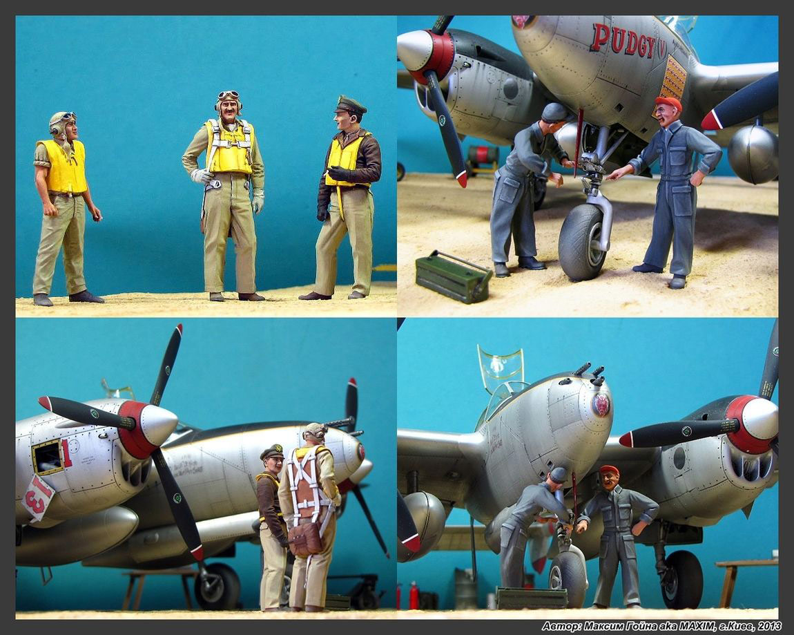 Dioramas and Vignettes: Major Thomas McGuire and his Lightning, photo #17