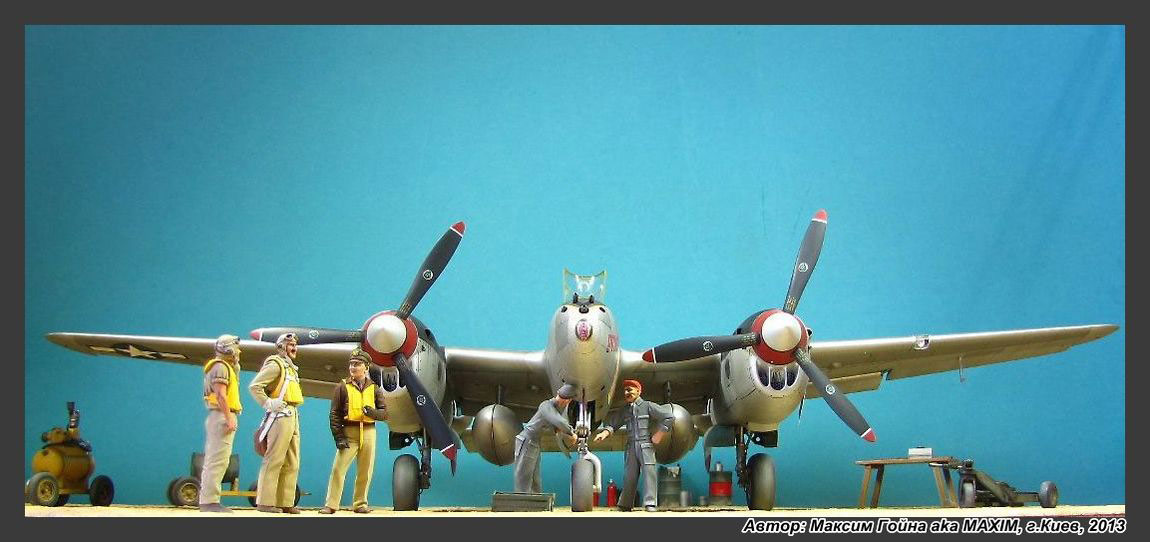 Dioramas and Vignettes: Major Thomas McGuire and his Lightning, photo #3