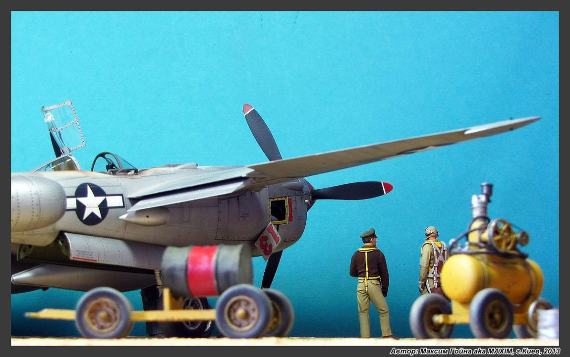 Dioramas and Vignettes: Major Thomas McGuire and his Lightning, photo #5