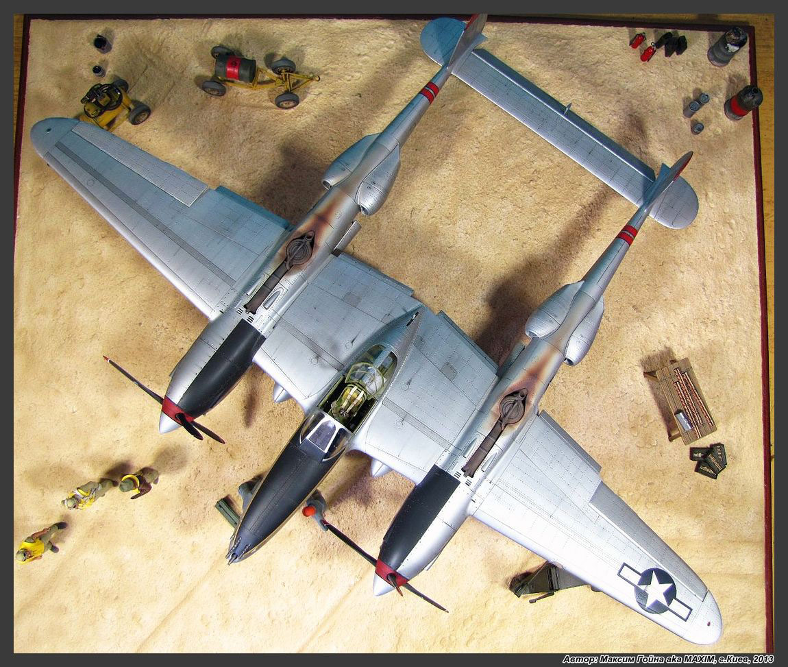 Dioramas and Vignettes: Major Thomas McGuire and his Lightning, photo #6