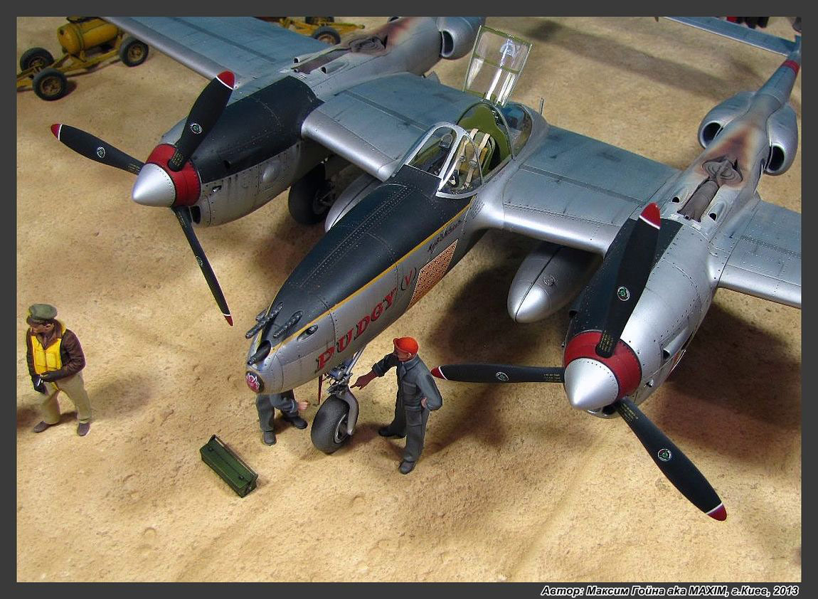 Dioramas and Vignettes: Major Thomas McGuire and his Lightning, photo #7