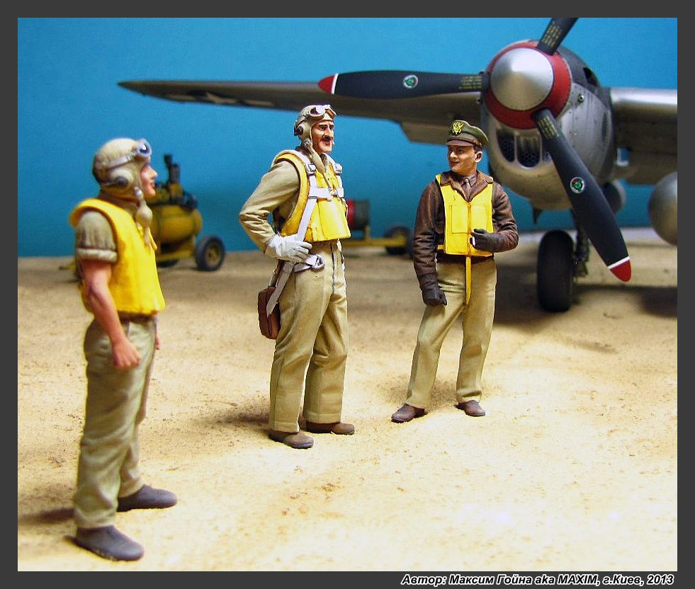 Dioramas and Vignettes: Major Thomas McGuire and his Lightning, photo #8