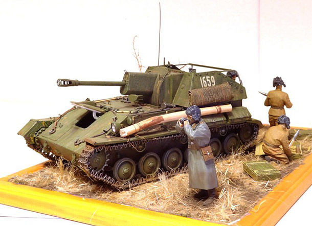 Dioramas and Vignettes: SU-76