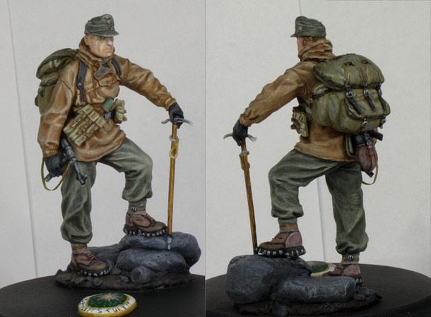 Figures: German mountain trooper