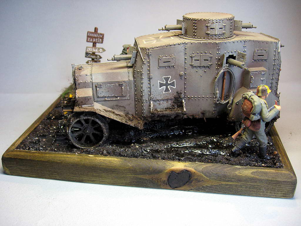 Dioramas and Vignettes: The «Peacemakers», or a «brotherly help» for Ukraine, photo #6