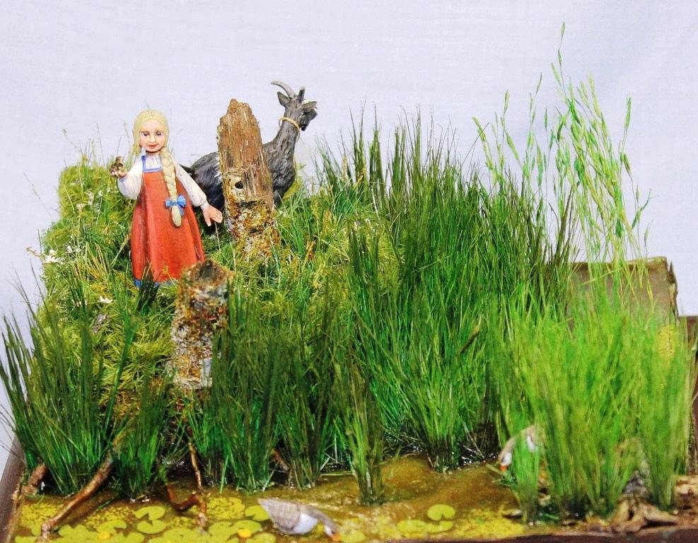 Dioramas and Vignettes: Alyonka' childhood, photo #3