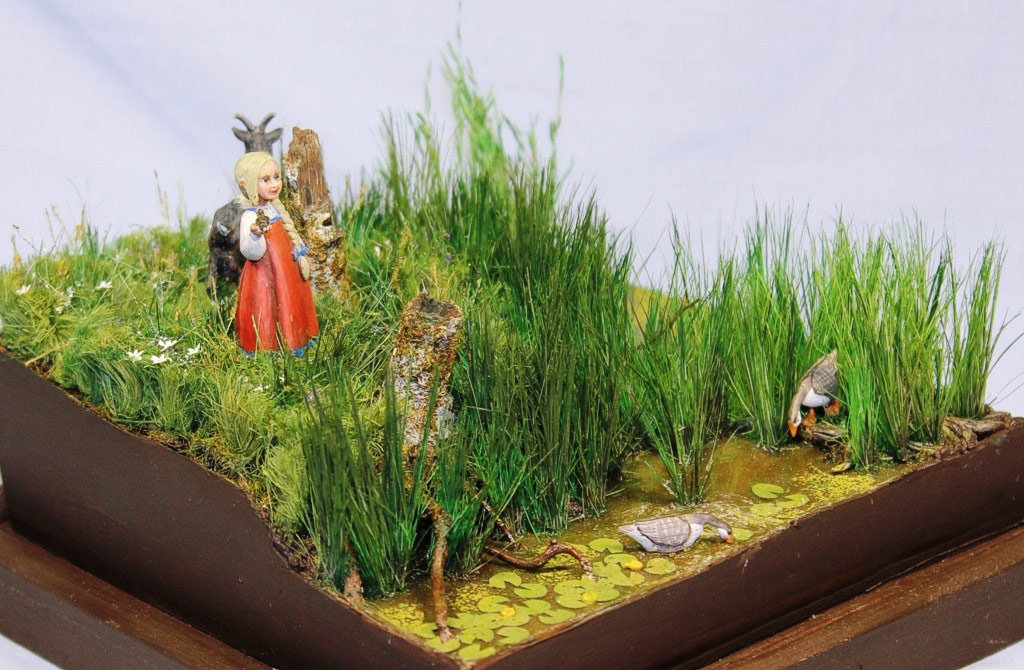 Dioramas and Vignettes: Alyonka' childhood, photo #4