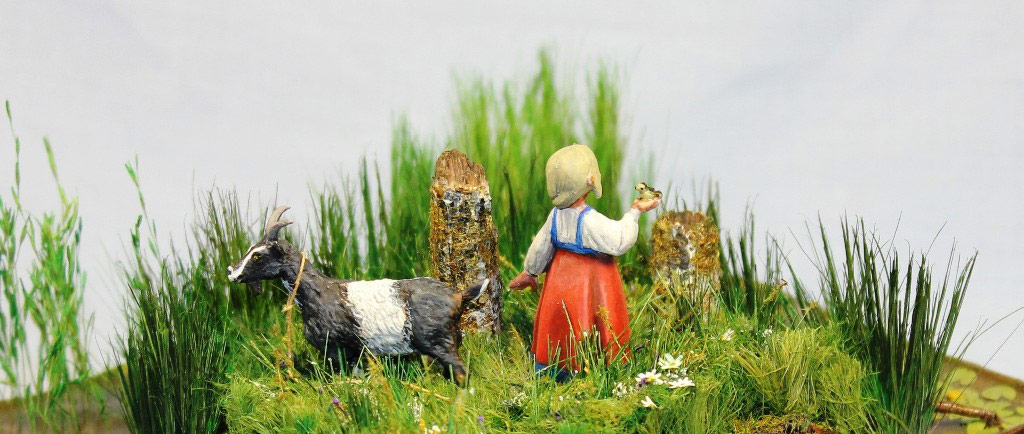 Dioramas and Vignettes: Alyonka' childhood, photo #7
