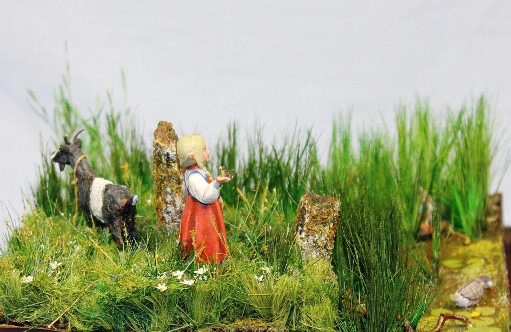 Dioramas and Vignettes: Alyonka' childhood, photo #8