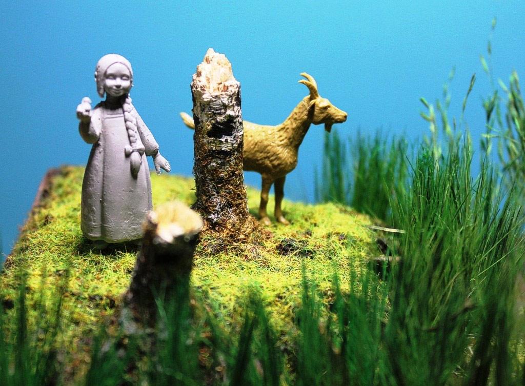 Dioramas and Vignettes: Alyonka' childhood, photo #9