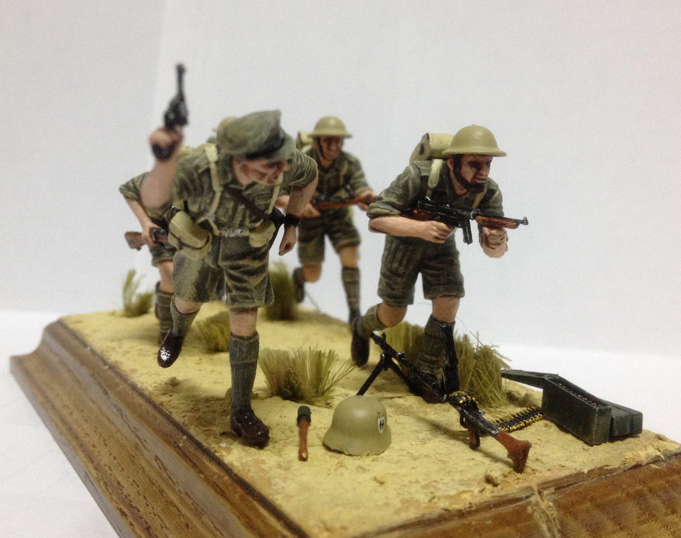 Training Grounds: British infantry in Africa, photo #4