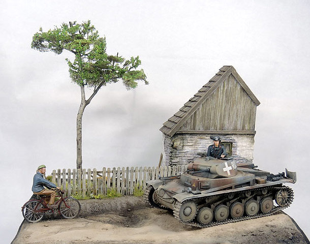 Dioramas and Vignettes: First days in Poland
