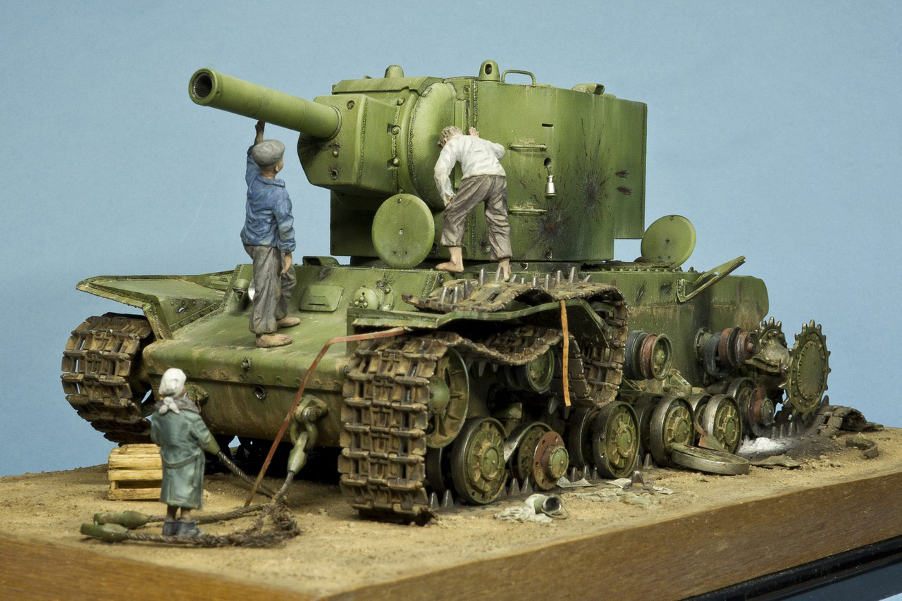 Dioramas and Vignettes: Ostrov-2, photo #1