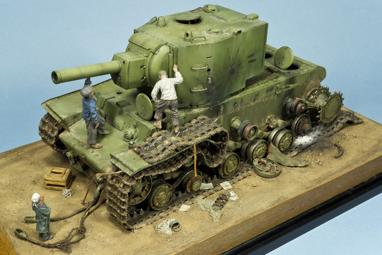 Dioramas and Vignettes: Ostrov-2, photo #6
