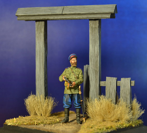 Dioramas and Vignettes: Cossack is leaving home