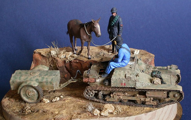 Dioramas and Vignettes: Two lonesomes. North Africa, 1942